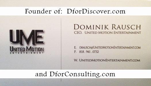 Entrepreneur Dominik Rausch attends Success Blossoms Think Tank