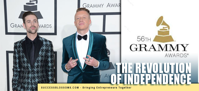 Entrepreneurship - IndieArtists-Macklemore-&-Ryan-Lewis-Grammys-Independence