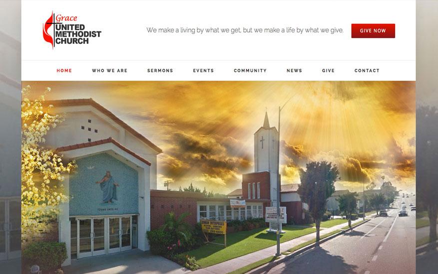 WordPress Website Design for Churches