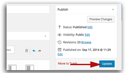 How to edit a wordpress page with fusion page builder