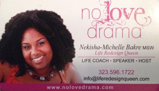 Entrepreneur Nekisha-Michelle Bakre attends Success Blossoms Think Tank